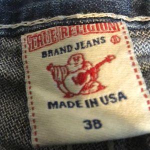 True Religion Men's Jean waist 38 length 34 Blue